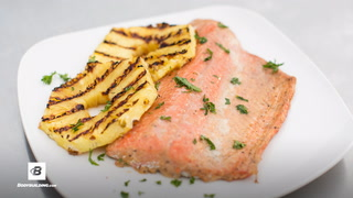 Healthy Grilled Salmon | Fit Men Cook