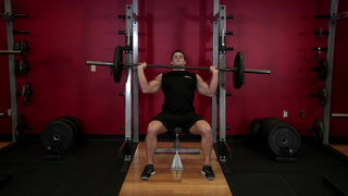 Barbell Shoulder Press - Shoulder Exercise