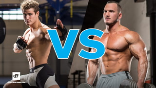 Sage Northcutt vs Bodybuilder Hunter Labrada | MMA Workout