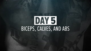 Day 5 | Biceps, Calves, and Abs Workout | Kris Gethin's 12-Week Muscle-Building Trainer