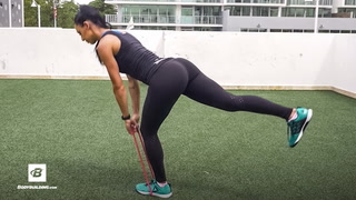 Single Leg Deadlift with Resistance Band Challenge | Fit Squad 8-Week Challenge | Week 3
