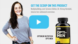 Optimum Nutrition Opti-Men Multivitamin | Science-Based Overview