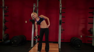 Dumbbell Side Bend - Core / Abs