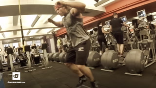 Arms, Abs, & Calves Triset Workout   30 Days Out   Day 17