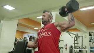 Day 81 | DTP Extreme Shoulders and Abs Workout | Kris Gethin's 12-Week Muscle-Building Trainer