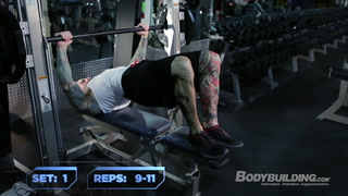 Chest, Triceps, & Abs Workout | Jim Stoppani's Six-Week Shortcut To Shred