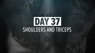 Day 37 | HIT Shoulders, Triceps, & Traps Workout | Kris Gethin's 12-Week Muscle-Building Trainer