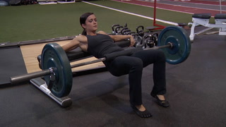 Barbell Hip Thrust - Legs / Glutes Exercise