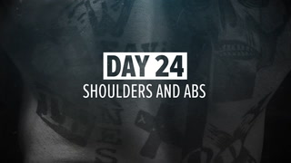 Day 24 | FST-7 Shoulders and Abs Workout | Kris Gethin's 12-Week Muscle-Building Trainer